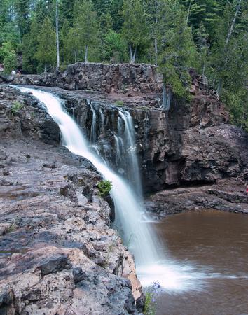 Flowing Lower Falls