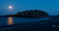Moon Over the Island