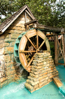 Water Wheel Powers the Mill