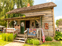 Little Log House - Antique Power Show 2016