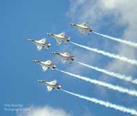 Airforce Academy Graduation - Thunderbirds